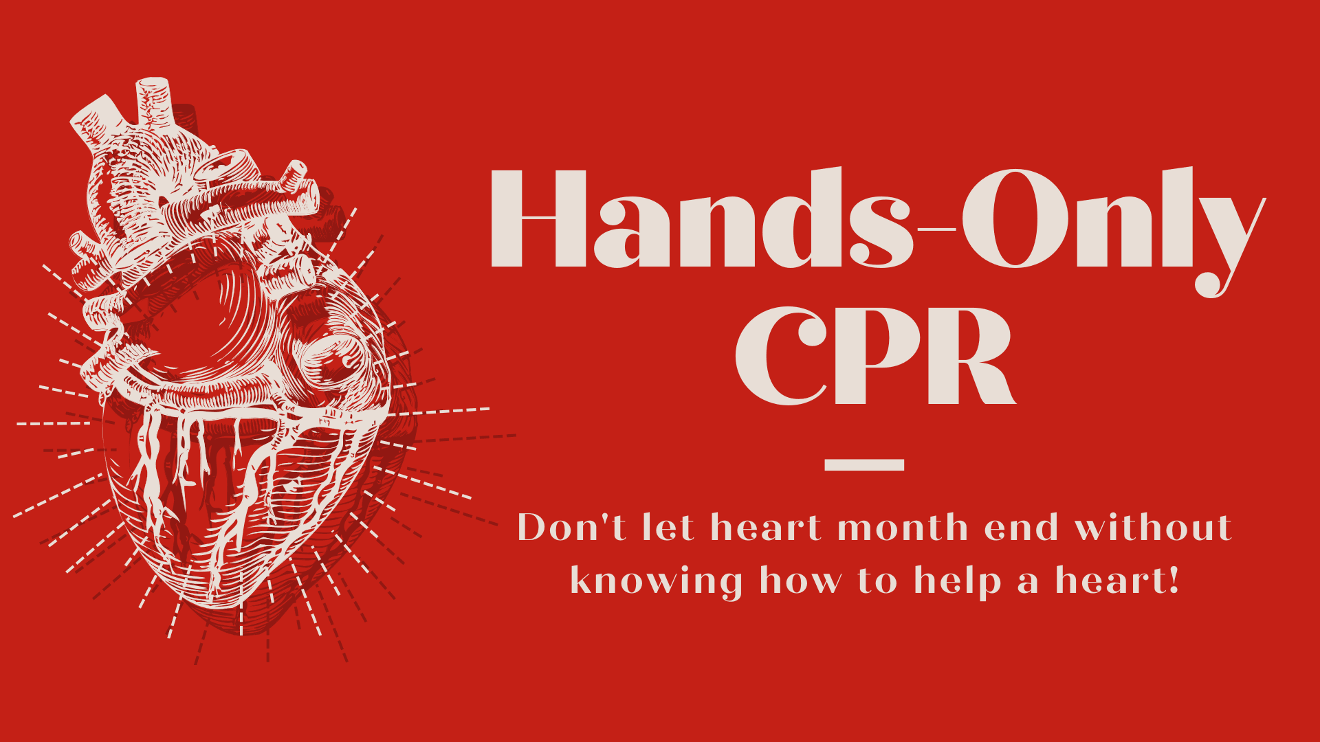 Hands-Only CPR training at Waterside District