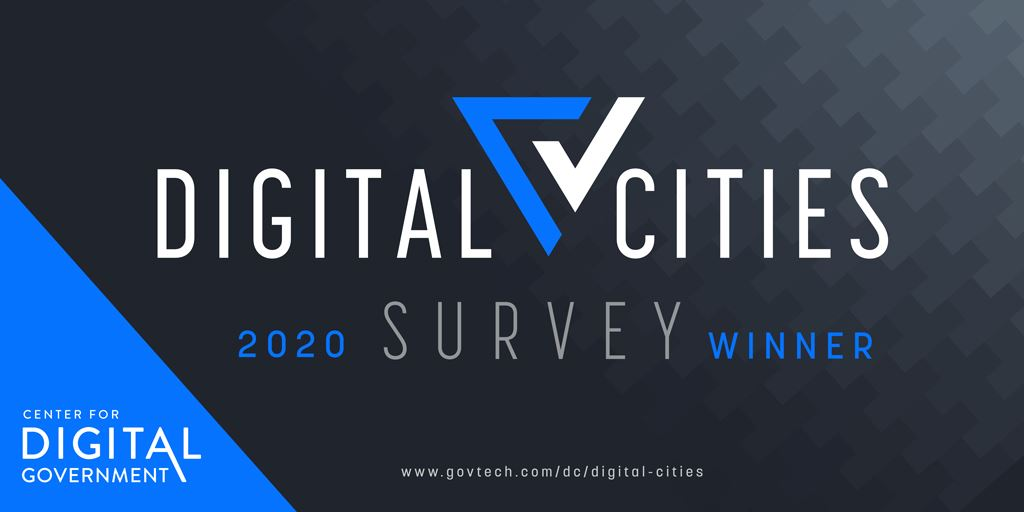 Digital Cities Survey 2020 Award Winner