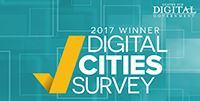 2017 Digital Cities Winner icon