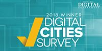 2018 Digital Cities Winner icon