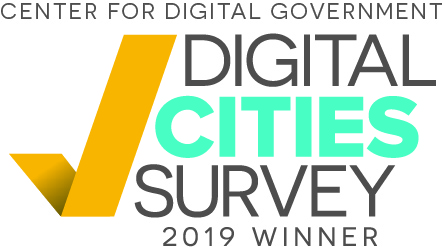Digital Cities Winners badge White